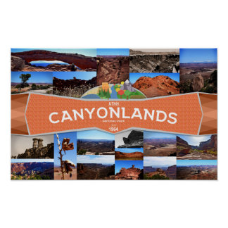 Poster of the Canyonlands National Park