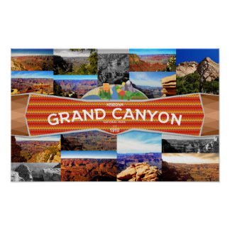 Poster of the Grand Canyon