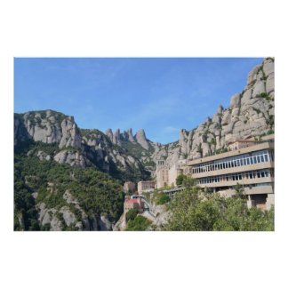 Poster of the Monastery of MontSerrat
