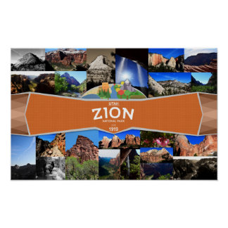 Poster of the Zion National Park