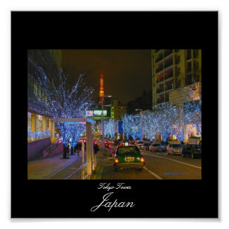 Poster of Tokyo Tower in Japan