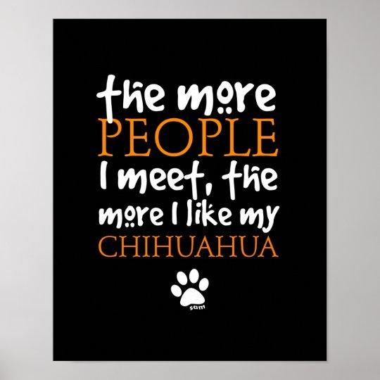 Poster Plus les personnes je rencontre… la version de chi
