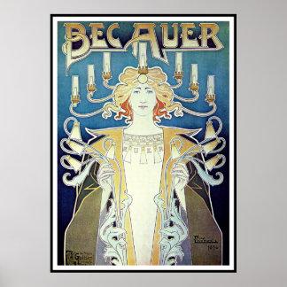 Poster Print Art Nouveau - Privat Livemont