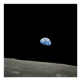 Poster/Print: Earthrise - NASA Space Image Poster