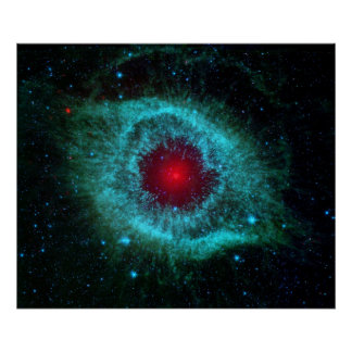 Poster/Print: Eye in the Sky - NASA Helix Nebula Poster