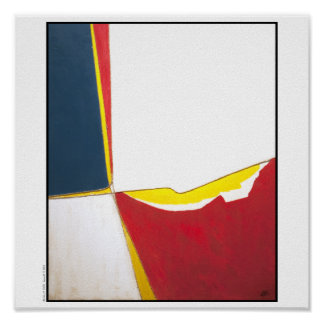 "Poster/Print: ""Primary Colors with String"" Poster"