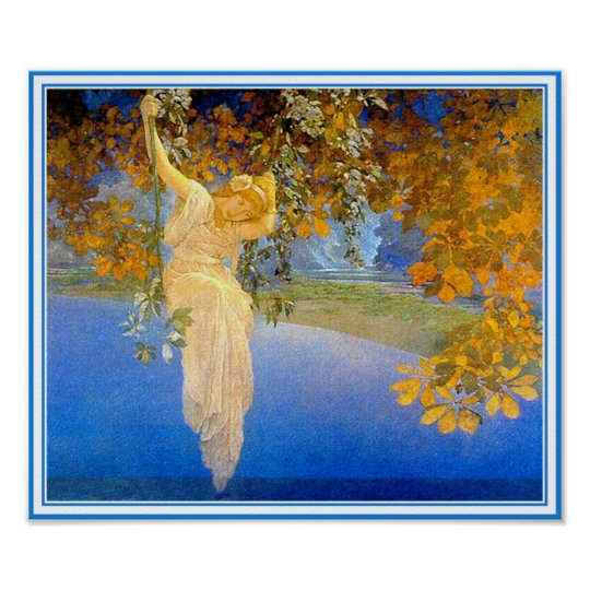 Poster/Print: Reveries - by Maxfield Parrish Poster