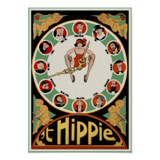 Poster/Print:  't Hippie by Charles Verschuuren, J