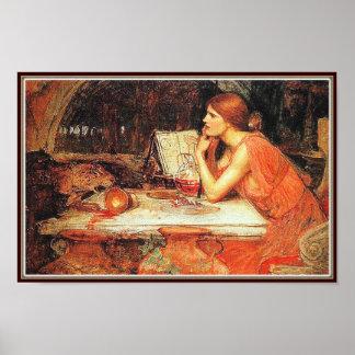 Poster/Print: The Sorceress - John Waterhouse Poster