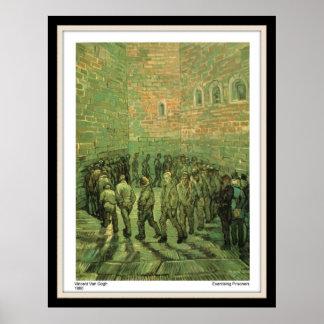 Poster Print Van Gogh Prisoners Exercising 1890