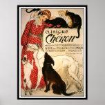 "Poster/Print: Vintage Steinlen ""Clinique Cheron"" Poster"