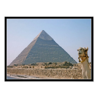 Poster: Pyramid of Khafre Poster