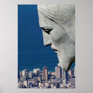 """Poster """"Redeeming Christ Rio De Janeiro """""""