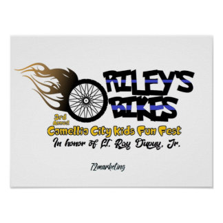 Poster Riley's Bikes Collectors