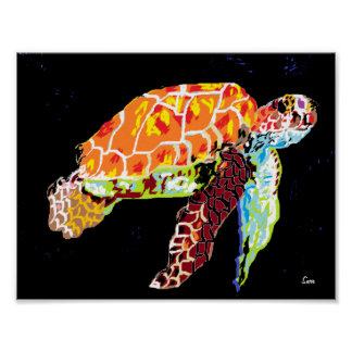 Poster: Sea Turtle Poster