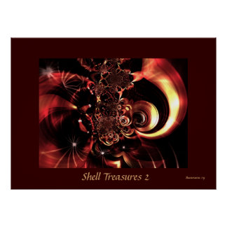Poster Shell Treasures 2