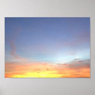 Poster Sunrise photo