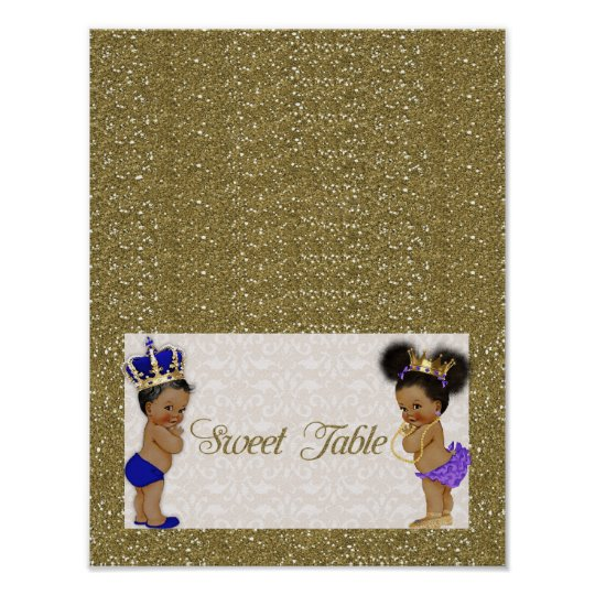 poster Sweet Table, gold