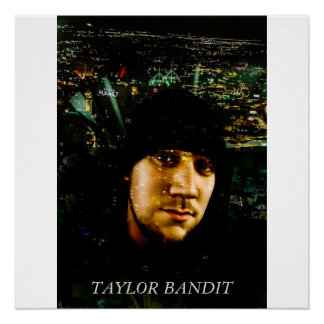 POSTER: TAYLOR BANDIT SAN ANTONIO WALL DECOR