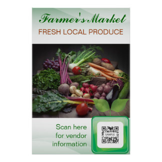 Poster Template Fresh Produce