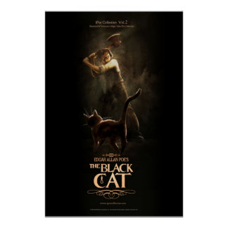 """Poster """"The Black Cat """""""
