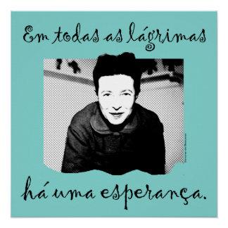 Poster the Hope of Simone de Beauvoir