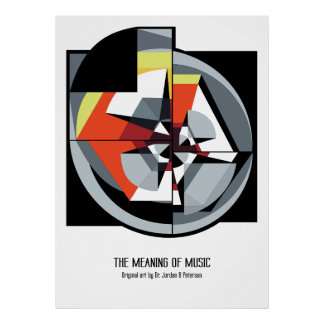 Poster - The Meaning of Music