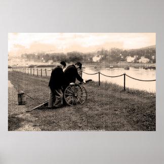 Poster Union Civil War Gunners - Fort Knox,...