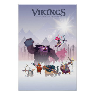 poster Vikings archer