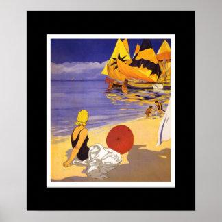 Poster Vintage Art Italy Adriatic Sea 2