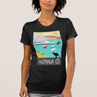 Poster vintage de l'Australie Tee-shirt