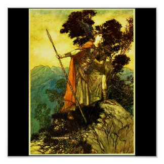 Poster-Vintage Illustration-Rackham 10 Poster