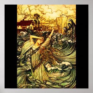 Poster-Vintage Illustration-Rackham 25 Poster