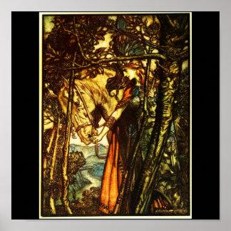 Poster-Vintage Illustration-Rackham 34 Poster