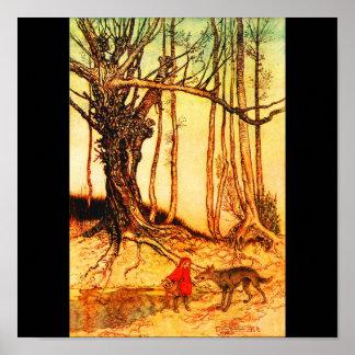 Poster-Vintage Illustration-Rackham 36 Poster