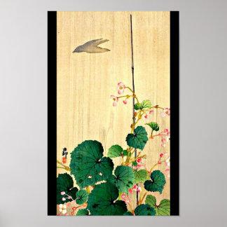 Poster-Vintage Japanese Art-Ohara Koson 8 Poster