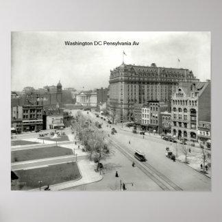 poster washington DC 1910
