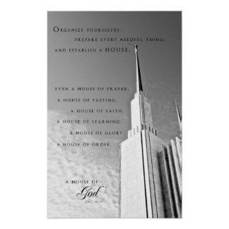 Poster - Washington DC LDS Temple 4