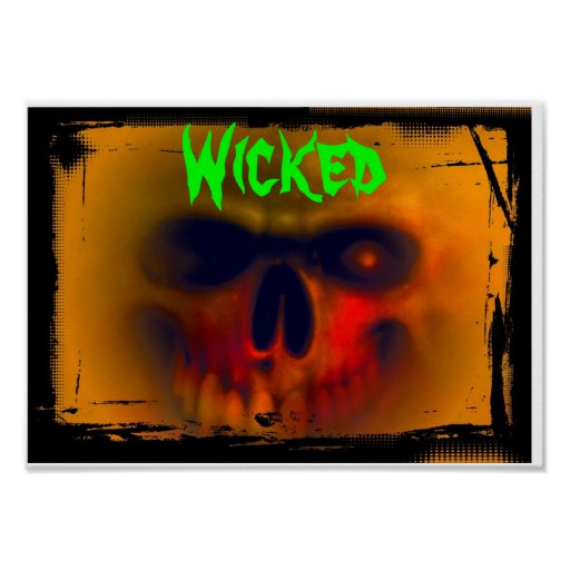 Poster: Wicked Poster