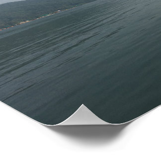 Poster With Boat In Lake