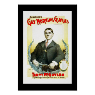 Posters Theater Vintage Gay Morning Glories
