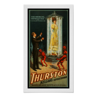 Posters Theater Vintage Thurston Magican