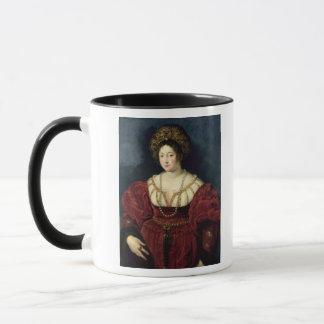 Posthumous portrait of Isabella d'Este Mug