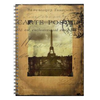 Postmarked Paris Notebook