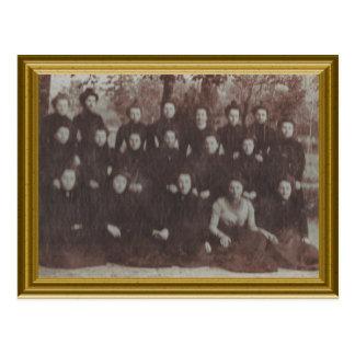 Postulant nuns, France 1890 Postcard