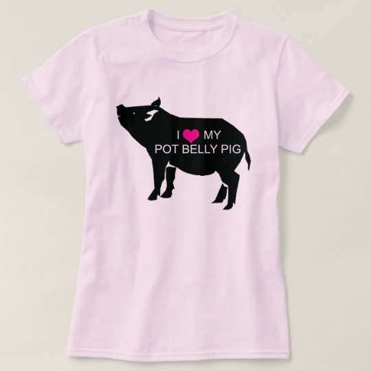 Pot Belly Pig T-Shirt