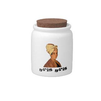 Pot de Marie Laveaux Gris Gris Boîte À Bonbons