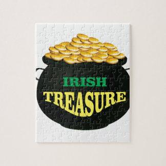 pot Irish Treasure Puzzle