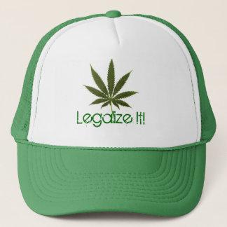 pot-leaf, Legalize It! Trucker Hat