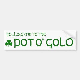 Pot o' Gold Bumper Sticker